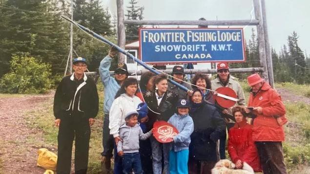 Une photo de famille de Shawna Yamkovy.