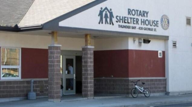 La maison pour sans-abri Rotary Shelter House de Thunder Bay.