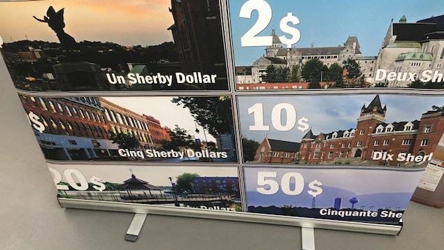 Les « Sherby Dollars » ont fait leur apparition à Sherbrooke.