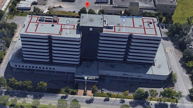 Le 5100, rue Sherbrooke Est, accueillera le centre administratif de la CSDM.