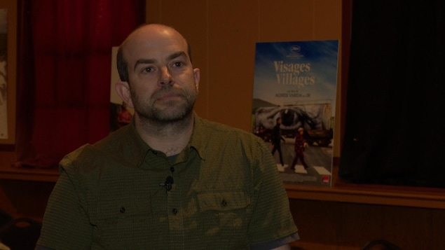 Simon Bujold, responsable de la programmation, Festival Vues sur mer