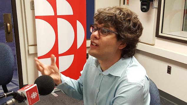 Simon Girard, de l'UQAC