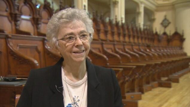 Soeur Pauline Duchesne préside le conseil de gestion du déménagement des Ursulines de Québec