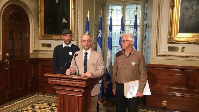 Québec solidaire demande un BAPE sur l'usine de biométhanisation