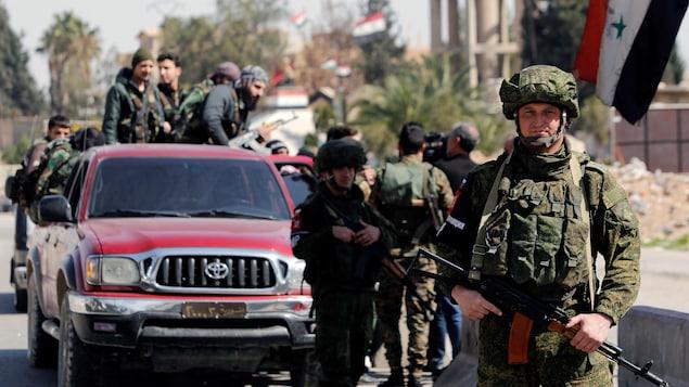 La Ghouta sous les bombes, l'aide humanitaire bloquée
