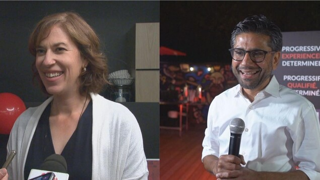 Sophie Chatel et Yasir Naqvi