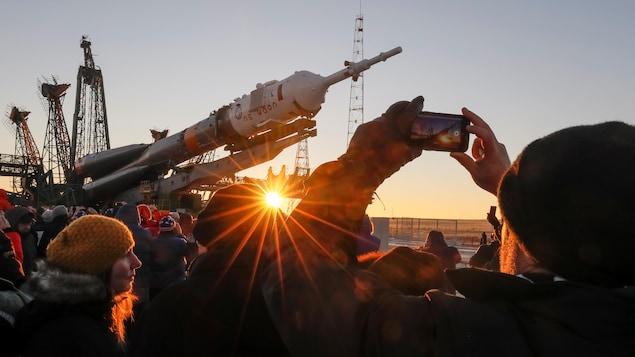 Premier décollage réussi d'un vol habité pour Soyouz depuis le lancement raté