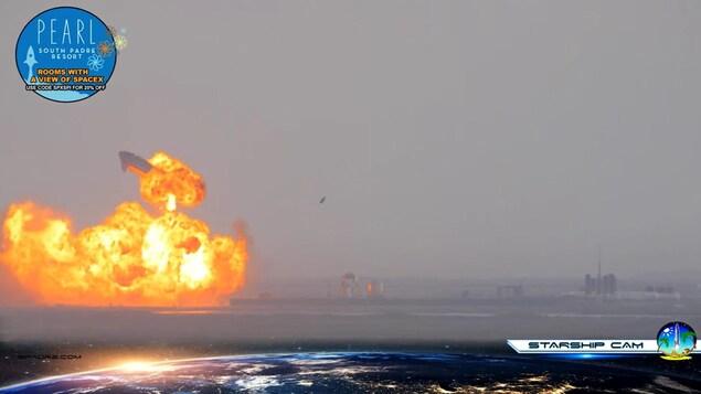 Une immense déflagration.