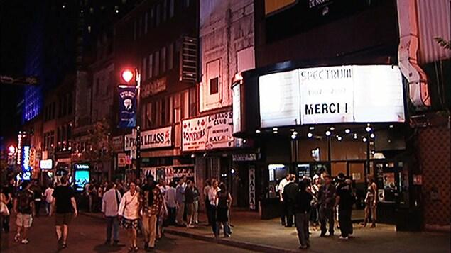 Le Spectrum de Montréal, peu avant sa fermeture, en 2007