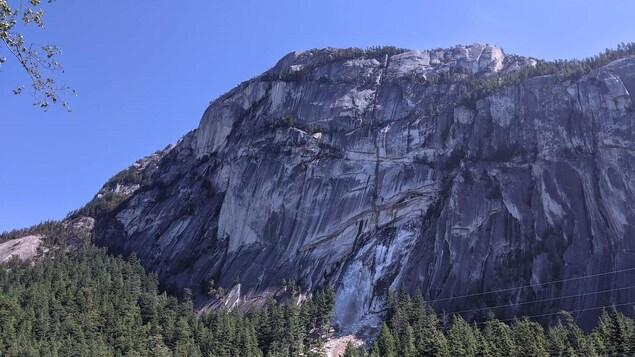 Le mont Chief, à Squamish, en C.-B.