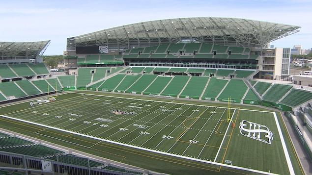 Le nouveau stade Mosaic de Regina