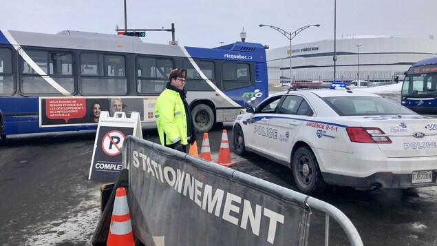 Des milliers de visiteurs sont attendus sur le site d'ExpoCité à Québec.
