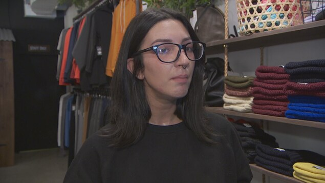 Stéphanie Cooke, la gérante de la boutique Muttonhead