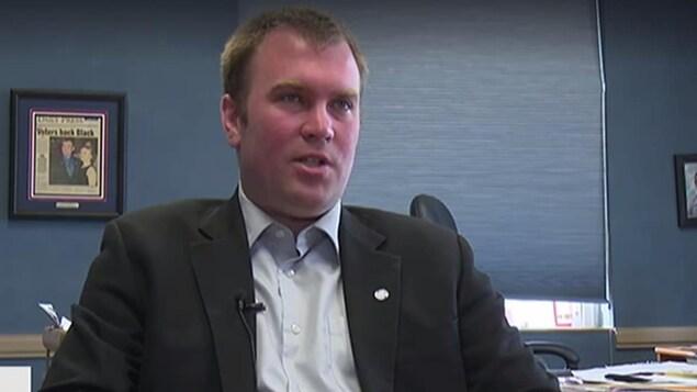 Le maire de Timmins Steve Black.