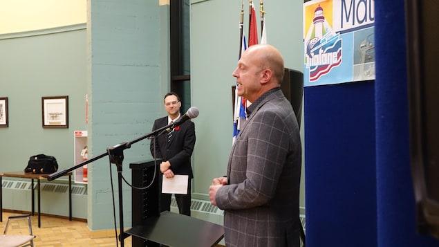 Le conseiller de la Ville de Matane au poste no 5, Steven Lévesque