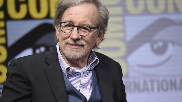 Steven Spielberg au Comic-Con 2017 de San Diego.