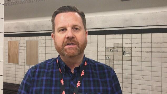 Stuart Green, porte-parole de la CTT dans la station Lower Bay
