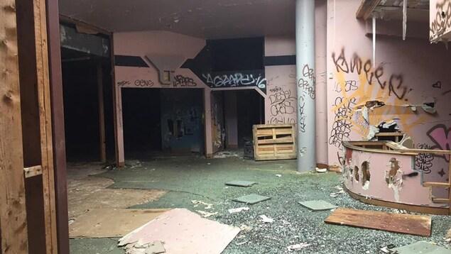 Un studio mythique est la proie de vandalisme dans les Laurentides.
