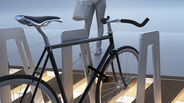 Le support à vélo «Québec à vélo» de Para-Sol