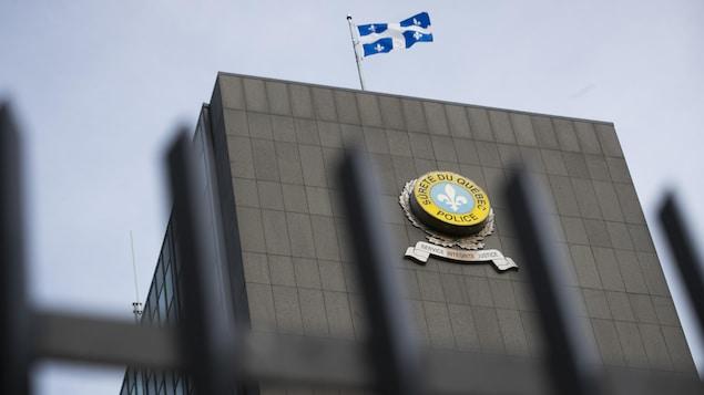 Le quartier général de la Sûreté du Québec à Montréal.