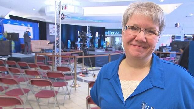La directrice générale de l'Élyme des sables, Suzanne Cassista