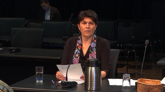 Suzy Basile, professeure à l'École des études autochtones de l'Université du Québec en Abitibi-Témiscamingue