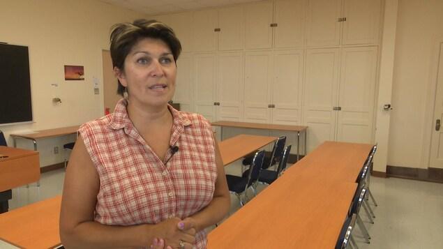 Suzy Basile, professeure à l'École d'études autochtones de l'Université du Québec en Abitibi-Témiscamingue
