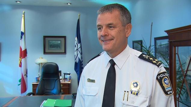 Sylvain Caron, directeur du SPVM