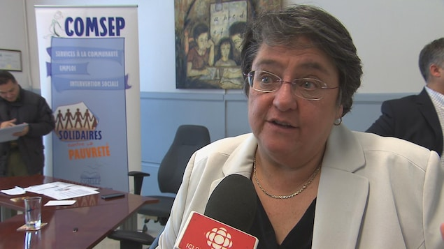 Sylvie Tardif, coordonnatrice générale de l'organisme COMSEP à Trois-Rivières