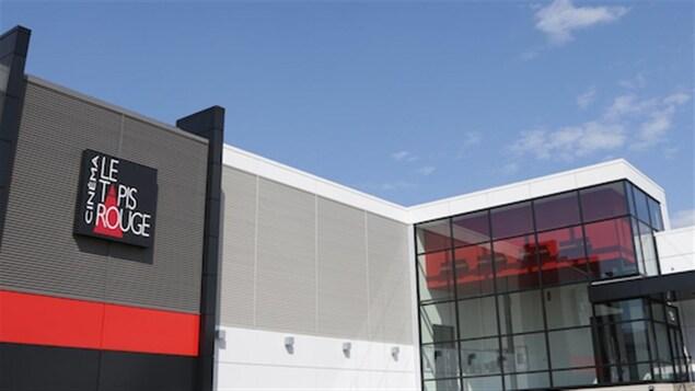 Le bâtiment du cinéma Le Tapis Rouge, à Trois-Rivières
