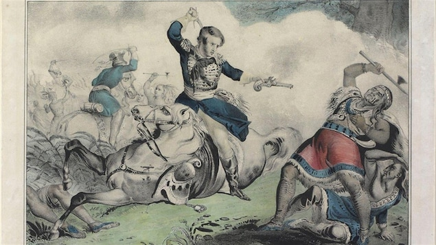 Mort du chef Tecumseh, le 5 octobre 1813