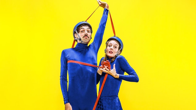 Brice Noeser et Katia Petrowick sont les clowns du spectacle «Tendre».