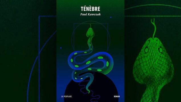 Un serpent est représenté sur la page couverture.