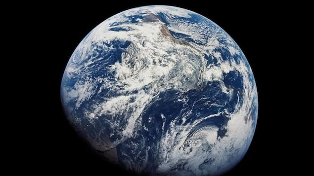 La Terre vue de l'espace.