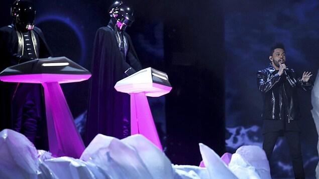 Daft Punk et The Weeknd aux 59es Grammy