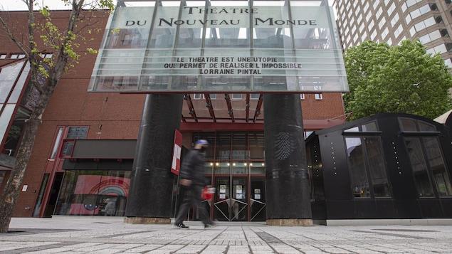 Le Théâtre du Nouveau Monde (TNM) à Montréal.