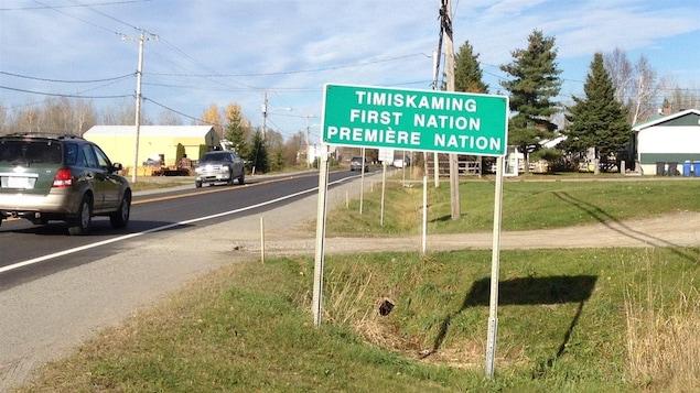 Communauté de Timiskaming First Nation/Première Nation.