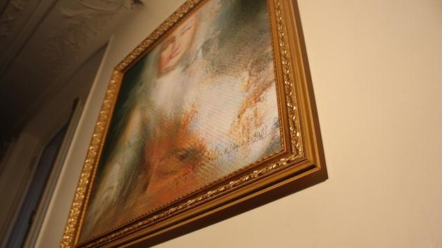 La toile «Le comte de Belamy»