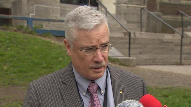 Tony Stack, directeur général par intérim et directeur de l'éducation au conseil d'administration de la Commission scolaire anglaise de Terre-Neuve-et-Labrador.