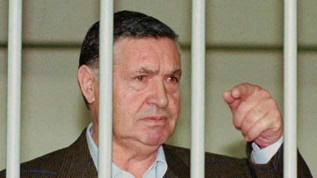 Toto Riina, ancien chef de la Cosa Nostra