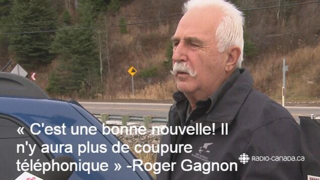 Roger Gagnon en entrevue