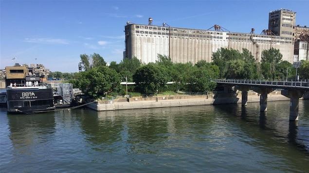 Les environs du quai McGill, où pourrait se trouver le débarcadère dans le Vieux-Montréal.