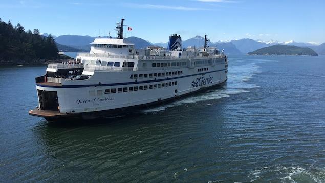 Un traversier de BC Ferry.
