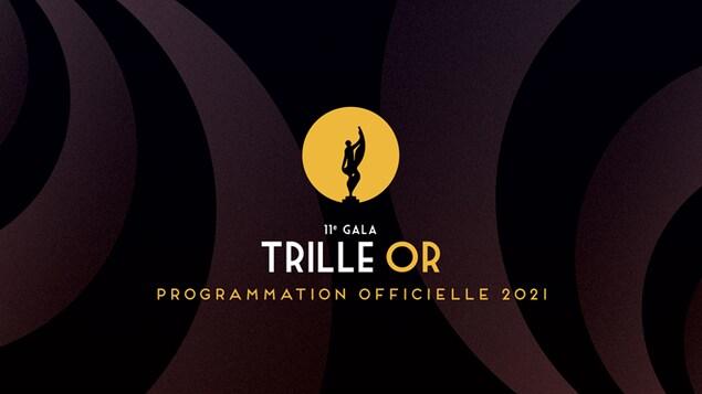Affiche officielle de la programmation de le Trille Or 2021.