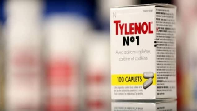 Certains comprimés de Tylenol contiennent de la codéine à faible dose