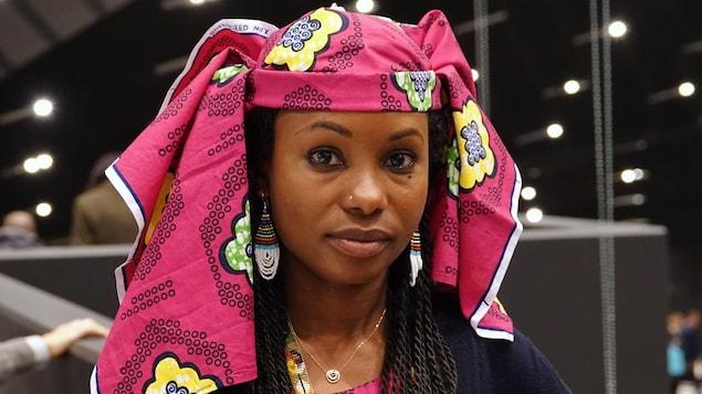 La Tchadienne Hindou Oumarou Ibrahim à la COP24.
