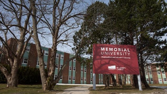 Un pavillon de l'Université Memorial.