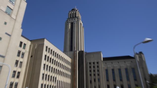 Des édifices de l'Université de Montréal.