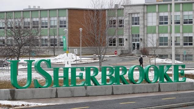 Le campus de l'Université de Sherbrooke.
