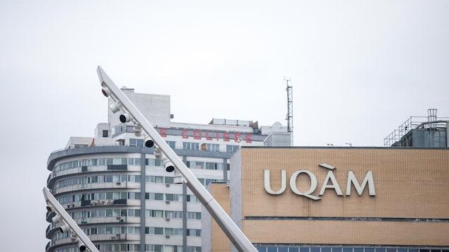 Un pavillon de l'UQAM.